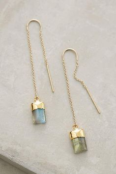 Quartz Sweeper Earrings - anthropologie.com Heather Hawkins