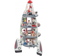 Hape Discovery Spaceship and Lift Off Rocket - Educational Experience