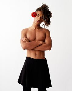 Jaden Smith photographed by Peter Ash Lee and styled by Ye Young Kim, for the latest issue of Vogue Korea.