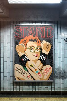 Pop culture artist Butcher Billy is back with a collection of pieces inspired by the hit Netflix series Stranger Things.  More pop culture via Behance