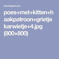 poes+met+kitten+haakpatroon+grietjekarwietje+4.jpg (800×800)