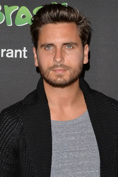 """""""Scott Disick + beard = chiselled perfection."""" — I don't know who you are, Scott Disick, but your eyes are pretty. ^_^"""