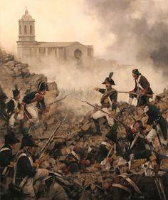 Resultado de imagen para infanteria de linea española en 1810-1814