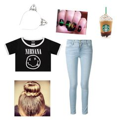 """""""mue"""" by my1chemical2awesomeness on Polyvore featuring Frame Denim"""