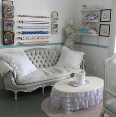 Shabby Chic Craft Room