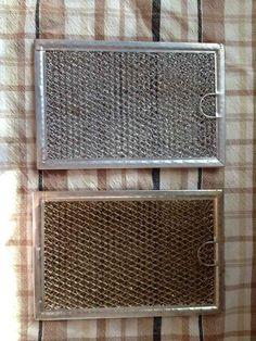 De-grime your stove vent filters by dipping them in boiling water with baking soda.