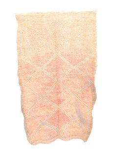 "Vintage Talsint Moroccan Rug, 3'7"" x 5'9"""