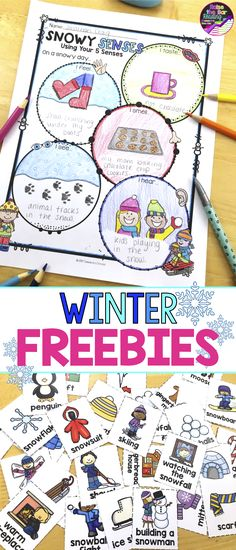 Free no prep winter activities to keep your students engaged! These free winter themed activities include winter vocabulary cards, winter bingo, and a winter word search. The full resource also includes winter writing, winter reading, winter art projects and more! Winter Printables | Winter Worksheets | Winter No Prep | Holidays Printables | Holidays No Prep| Holidays Worksheets
