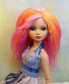 Mohair Wig for Ellowyne Wilde Imagination Doll by Fantasydolls