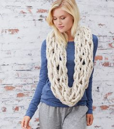 How To Make A Cozy Arm Knit Cowl
