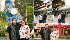 Engagement Session ~ Down Town Disney, Newport Beach Photographer, Orange County, Love, She Said Yes, Save the Date, Garden, Rainforest Cafe, Beauty and the Beast, Legos, Mickeys Sorcerers hat, Hotel, Flowers, Monorail, Kisses, Anaheim, GilmoreStudios.com