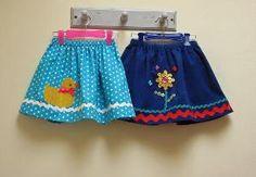 FREE Little Duckie Skirt Pattern