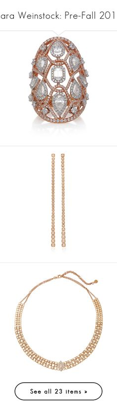 """""""Sara Weinstock: Pre-Fall 2018"""" by livnd ❤ liked on Polyvore featuring jewelry, saraweinstock, livndjewelry, prefall2018, livndsaraweinstock, fine jewelry, fine jewellery, earrings, necklaces and bracelets"""