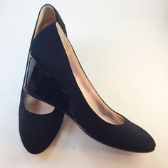 """Taryn Rose black wedges Black 2.5"""" closed-toe, wedge pump. Very comfortable with cushioned in-sole. In great condition; only worn twice. Taryn rose Shoes Wedges"""