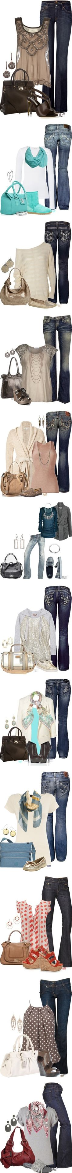 New Fall Looks: Denim & Shimmer - The Todd and Erin Favorite Five