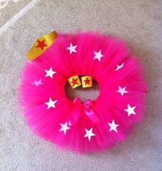 Hot Pink Super Hero Tutu Costume. Fuchsia Super by jessicakertel1, $42.99