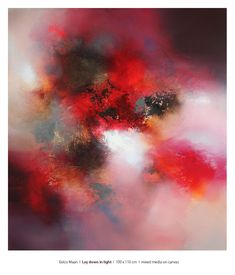 Eelco Maan I Across the sun, mixed media on canvas, 130 x 120 cm. Available at SHE-ART Gallery, Nuenen, https://www.sheesnut.nl/