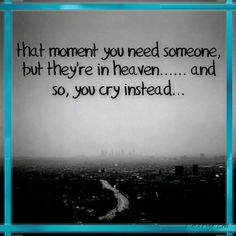 Just one moment...I think i could maybe stop crying if for just one moment you could hug me again...nope! I think I would cry even harder.