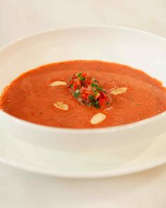 This cool gazpacho combines savory and sweet flavors for a seasonal treat. The recipe comes from chef David Kinch of Manresa.