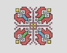 Check out our bulgarian embroidery selection for the very best in unique or custom, handmade pieces from our embroidery shops. Embroidery Shop, Cross Stitch Embroidery, Cross Stitch Patterns, Bead Crochet Rope, Cross Stitch Flowers, Bulgarian, Cards, Handmade, Etsy