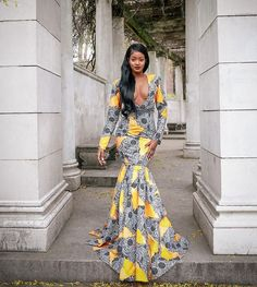 1 Pic Killers - The Fine Ass Woman Thread - Page 1458 African Prom Dresses, African Wedding Dress, African Dresses For Women, African Wear, African Attire, African Fashion Dresses, African Outfits, African Style, Ankara Gowns