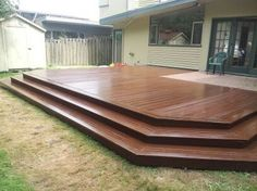 Perfect platform deck. low profile In The Yard