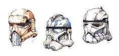 ArtStation - Stormtroopers, Alec Webb