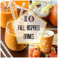 10 Fall Inspired Drinks