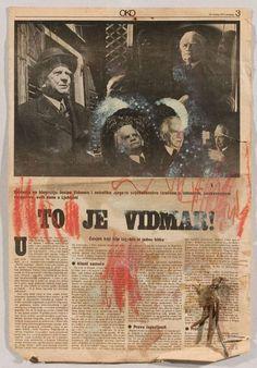 Vlado Martek, To je Vidmar Museum, Movies, Movie Posters, Art, Films, Art Background, Film Poster, Popcorn Posters, Kunst