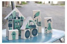 City Blocks by Mudd Kids