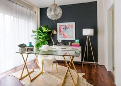 VIDEO: YouTube Star Desi Perkins's Living Room Makeover