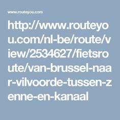 http://www.routeyou.com/nl-be/route/view/2534627/fietsroute/van-brussel-naar-vilvoorde-tussen-zenne-en-kanaal