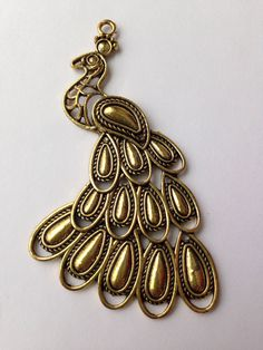 LARGE. Beautiful! Great as a pendant!