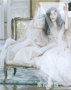 全智贤婚纱系列 《来自星星的你》女神(全文)-明星婚纱-幸福婚嫁网