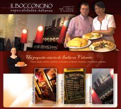 Il Bocconcino - Pizzeria italiana en Valencia - Good pizza, grilled melanzane, carpaccio and Tiramisù.