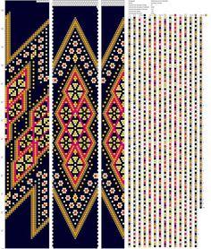 24 around tubular bead crochet rope pattern Bead Crochet Patterns, Bead Crochet Rope, Seed Bead Patterns, Peyote Patterns, Beading Patterns, Beaded Crochet, Loom Bracelet Patterns, Bead Loom Bracelets, Tapestry Crochet