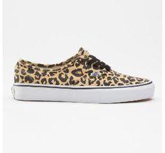 Cheeta print vans