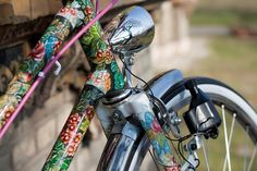 Ms. April, hand-painted bicycle