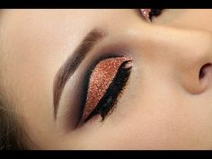 Maquiagem Cut Crease - YouTube