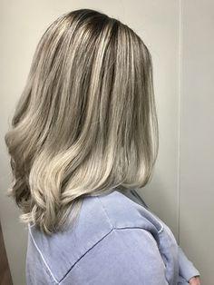 Frosty blonde balayage by Kim! Aveda Spa, Aveda Salon, Aveda Hair Color, Salon Services, Body Wraps, Spa Gifts, Blonde Balayage, Manicure And Pedicure, Eyelash Extensions