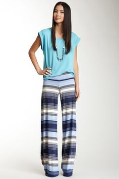 Print Wide Pant on HauteLook