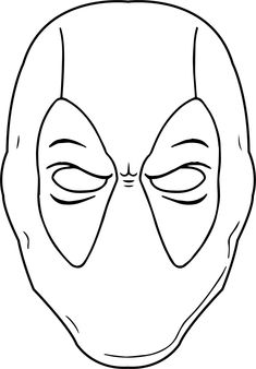 Coloring Pages Deadpool Face from Deadpool Coloring Pages Printable. In this category, you will find various motifs on the topic of comics & cartoon characters for printing and coloring. Please have a look at our ma. Wwe Coloring Pages, Shopkins Colouring Pages, Coloring Pages For Boys, Coloring Pages To Print, Printable Coloring Pages, Free Coloring, Coloring Books, Coloring Sheets, Kids Coloring