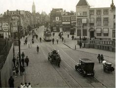 Wagenstraat, Wagenbrug vanaf de Stationsweg, 1920.