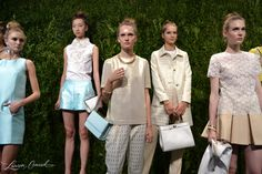love these looks from the Kate Spade Spring 2014 Presentation