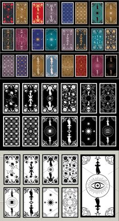 Black And White Background, Tarot Cards, Wedding Cards, Invitations, Illustrations, The Originals, Floral, Poster, Design