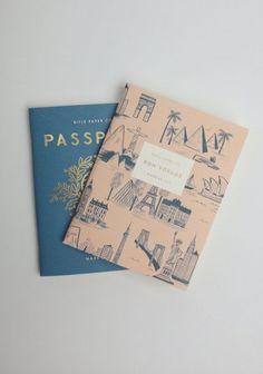 Chic pocket notebooks.