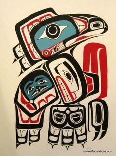 Tlingit tribes art - Sök på Google