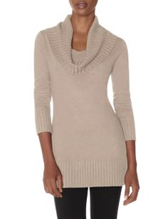 Cowl Neck Tunic Sweater | Women's Tops | THE LIMITED