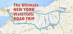 Travel | New York | Waterfalls | Road Trips | Day Trips | Natural Wonders