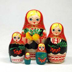 Currants Five Part Nesting Doll $20.00